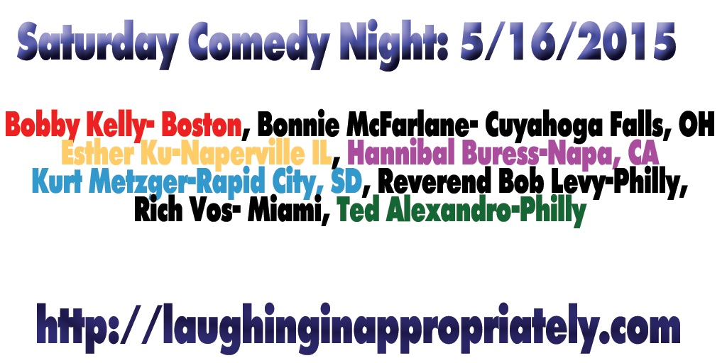 Comedy on May 16, 2015